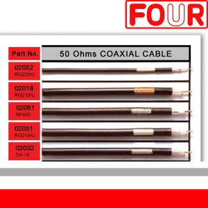 RG type coaxial cable (50 & 75 Ohm)