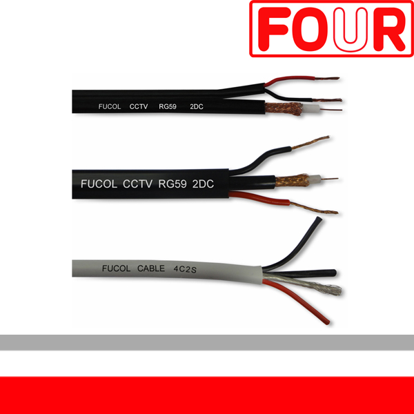 CCTV coaxial cable